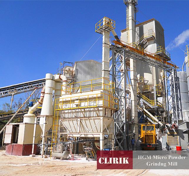 Calcium fluoride ultra fine powder mill