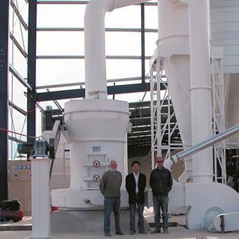 Macedonia Gypsum Ultra fine grinding machine Process Line